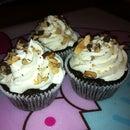 Chocolate Almond Cupcakes