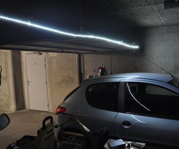 Illuminate a Garage That Does Not Have Electricity