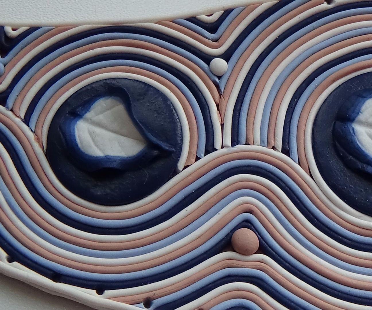 Necklace Spring dreams Part 1. Polymer clay tutorial
