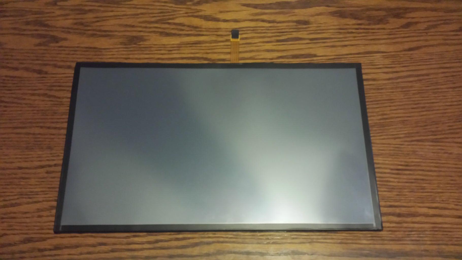 Touchscreen Setup (applying the Touchscreen Overlay)