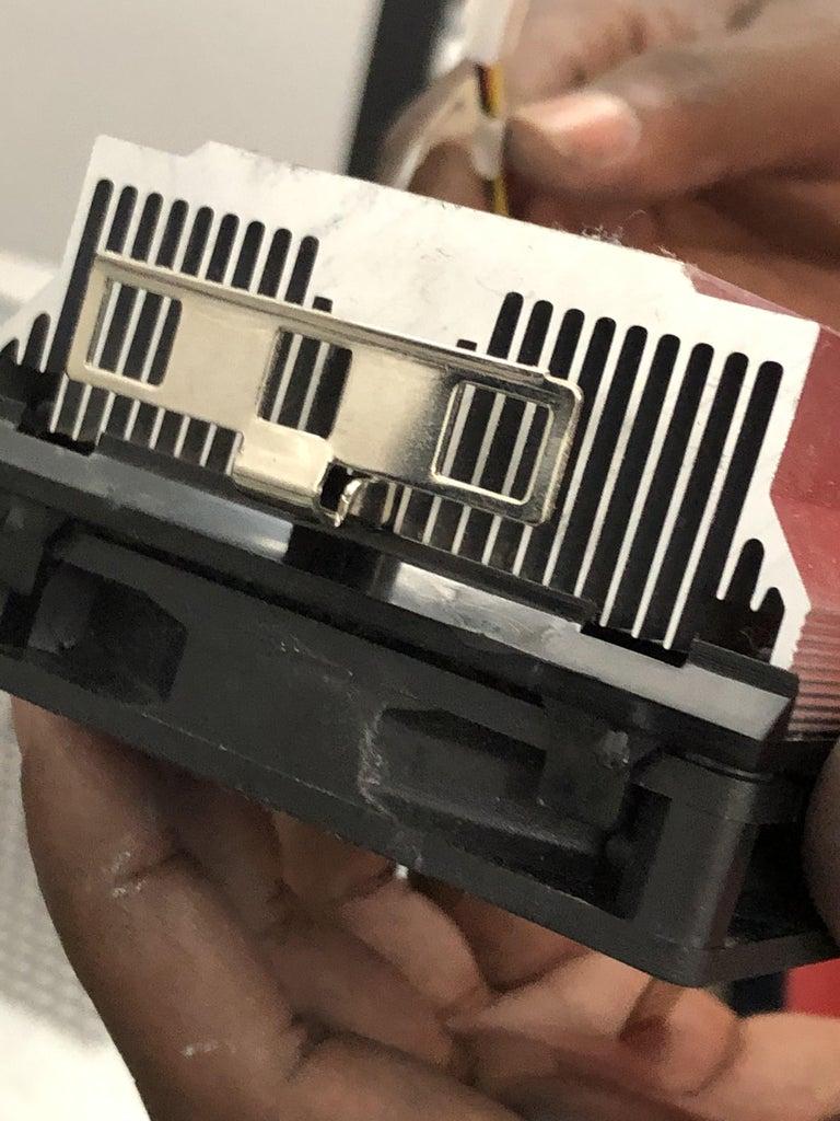 Step 3: Installing CPU and CPU Cooler