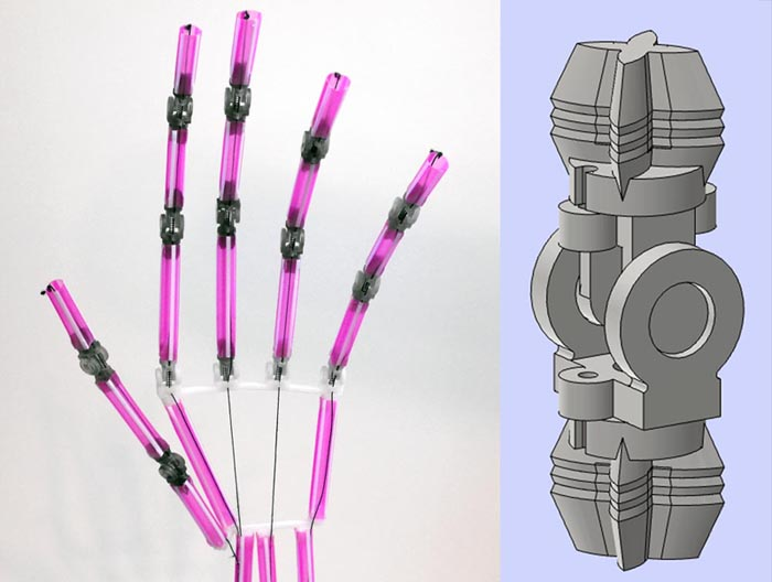 Spring Loaded Drinking Straw Hinges