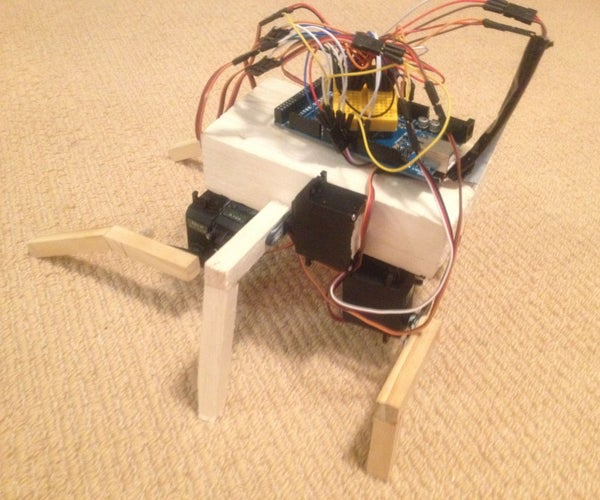 Rana: an Arduino Inspired Biological Robot