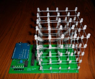 LED Cube With Arduino and Custom PCB