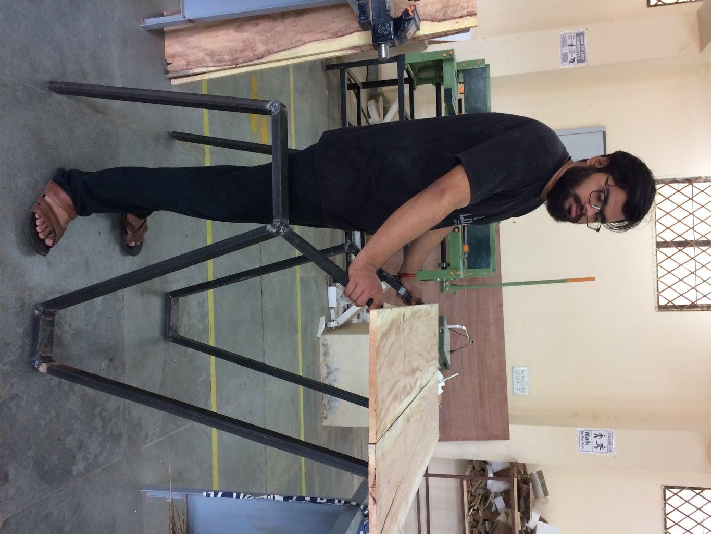 Welding the Frame
