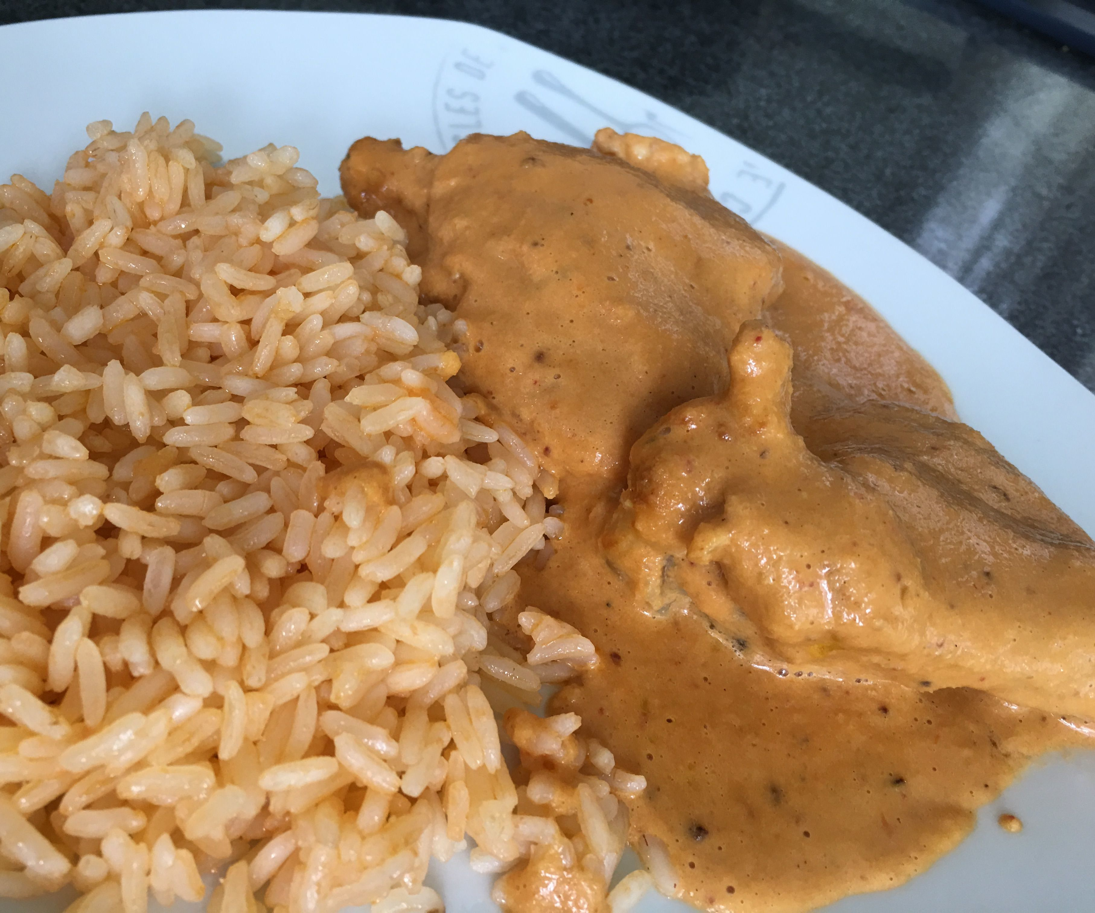 Chicken in Peanut Mole Sauce