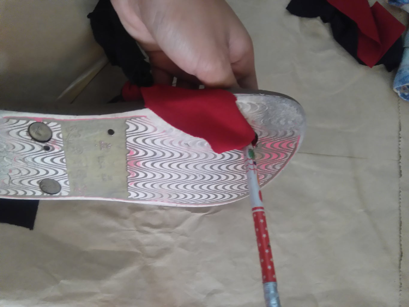 Putting the Fabric Into the Flip Flop