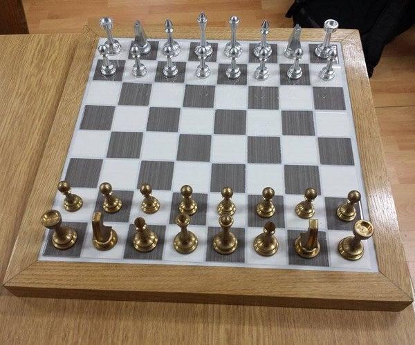 DIY CNC Chess