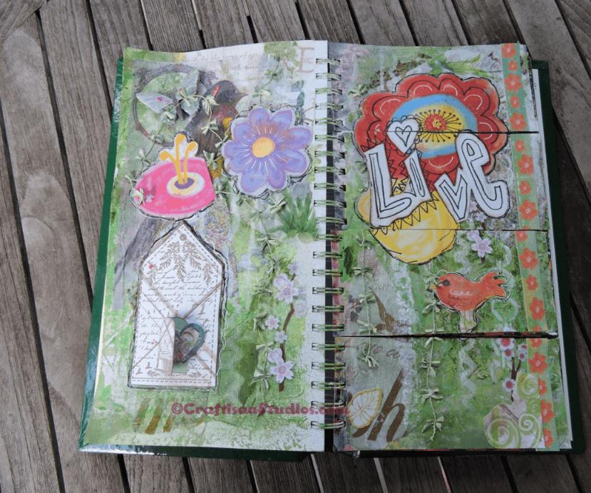 Backyard Bird Art Journal