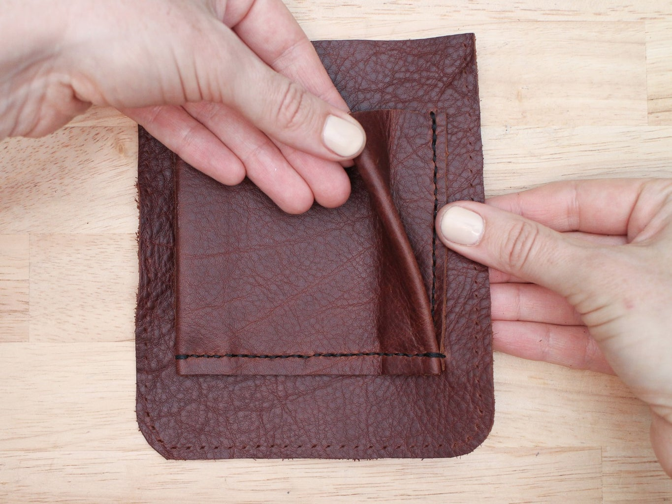 Sew the Pocket to Your Bag