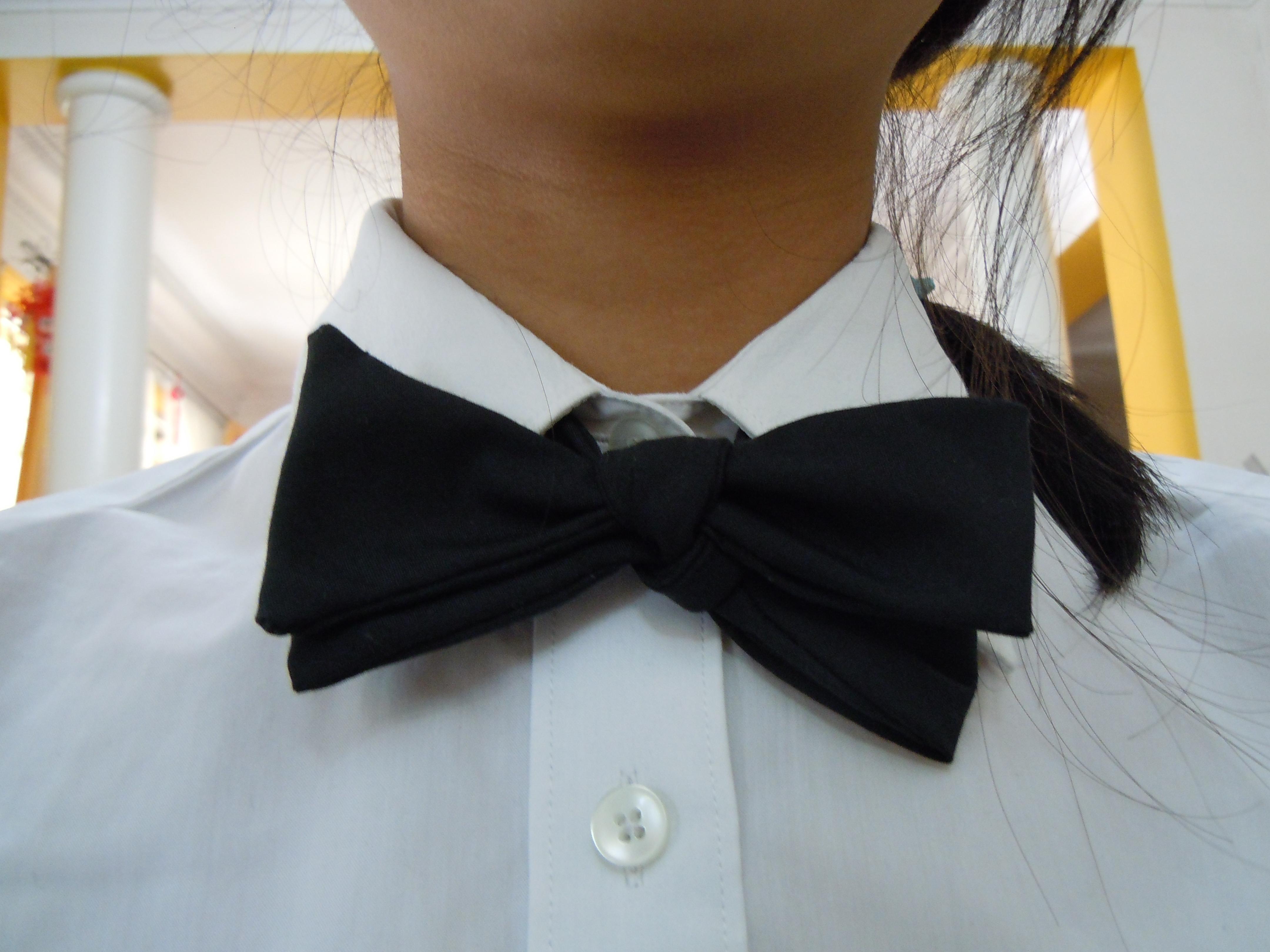 Make a Self-tie Bow-tie