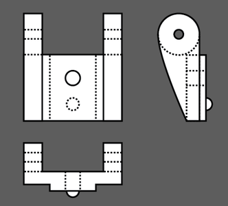 Technical Drawing by Illustrator