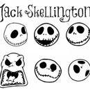 Jack Skellington String Lights