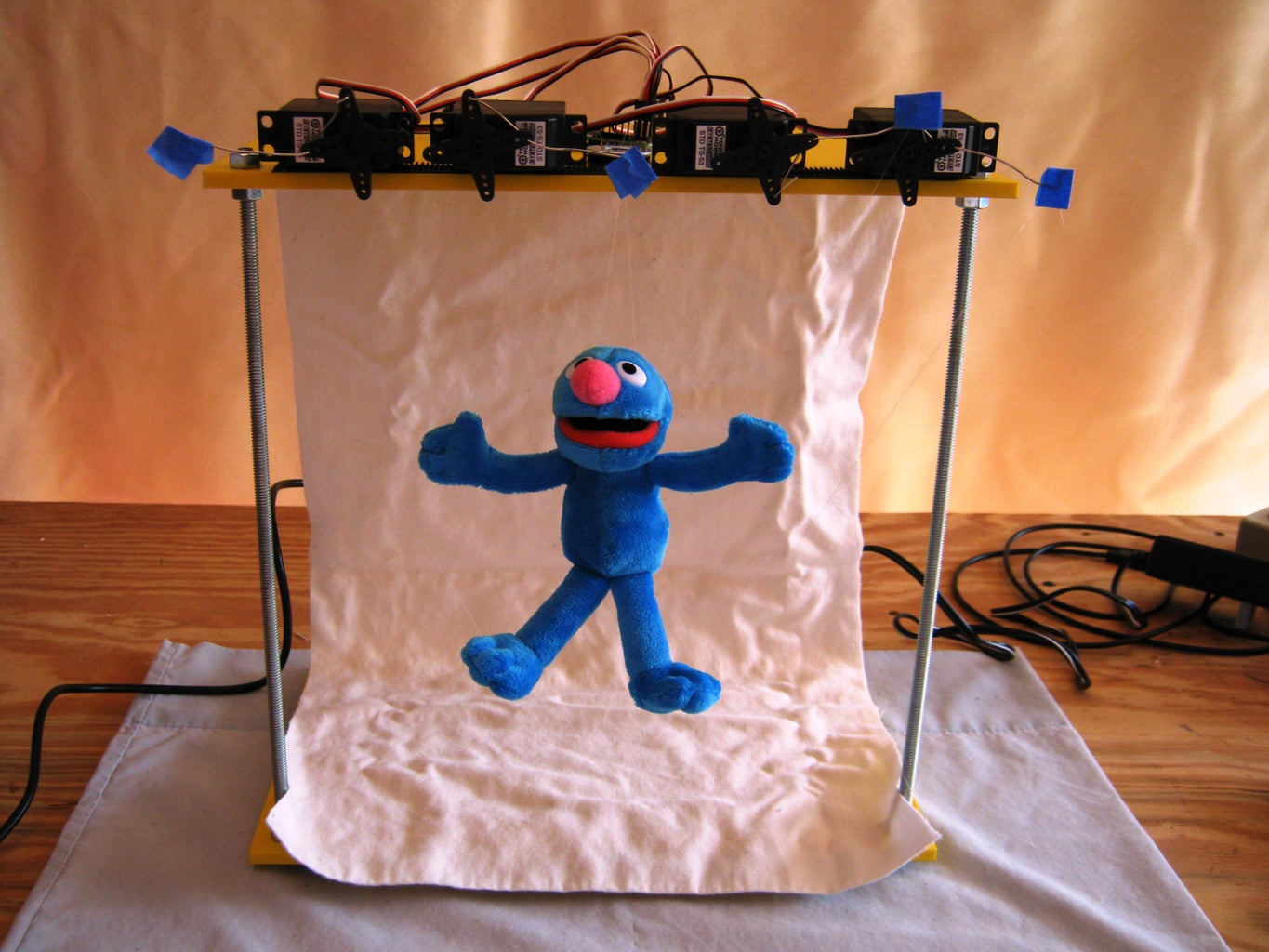 Groovin' Grover: a Microcontroller-based Marionette