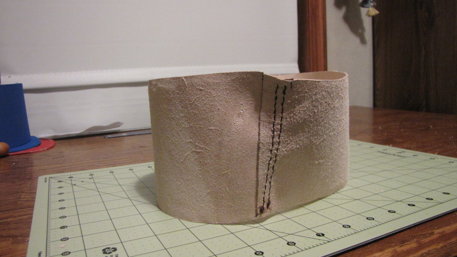 Stiching the Side and Top Together