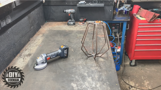 The Welding Phase of the Lamp Base