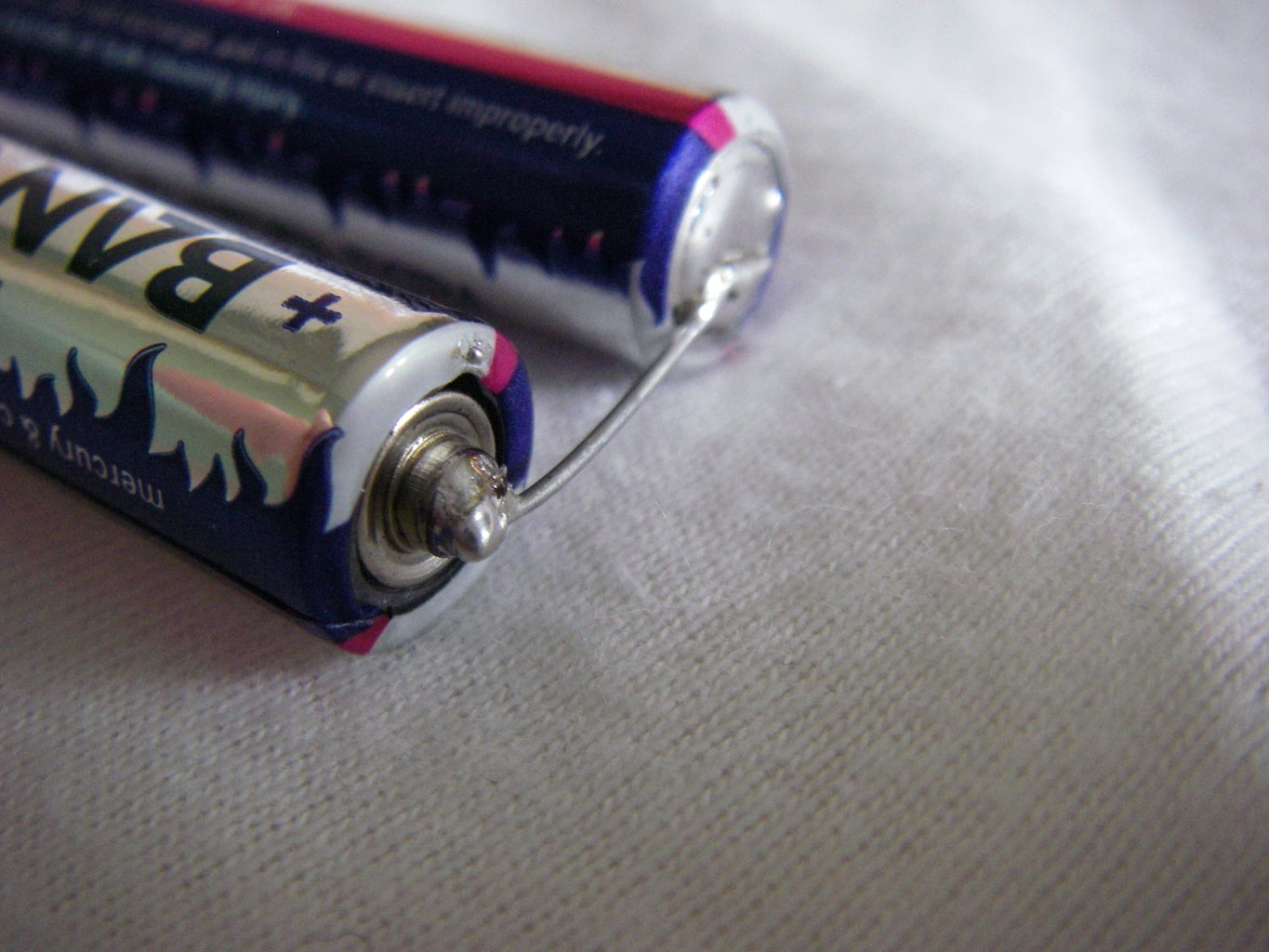 Mount the Batteries and the Switch