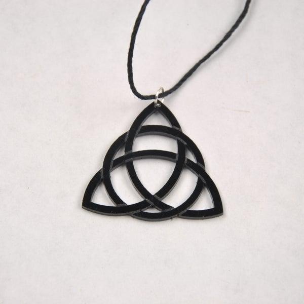 Laser Cut Trinity Pendant