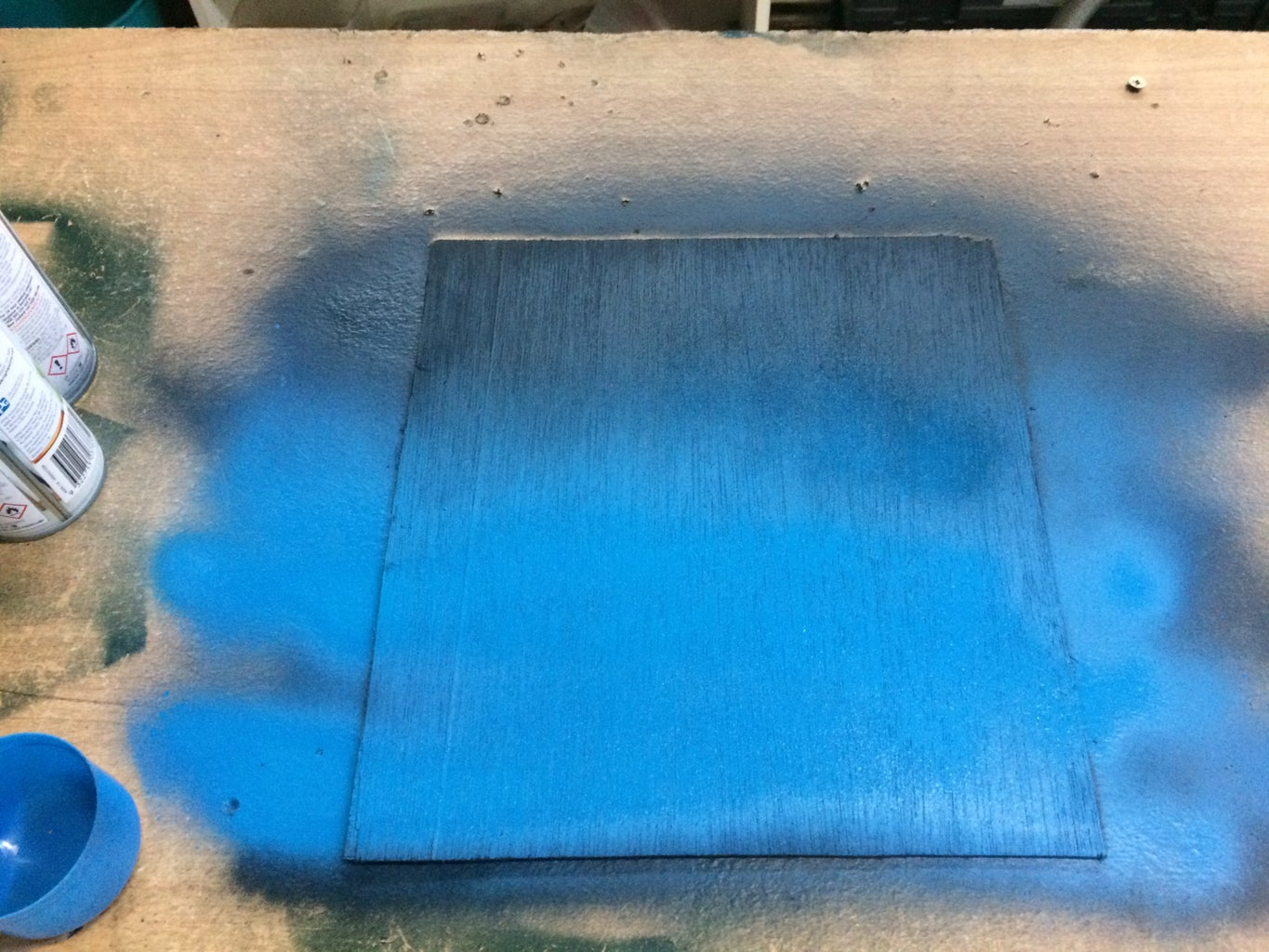 The Second Coat and Making a Fade