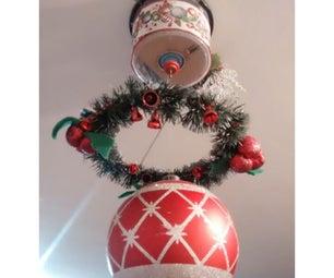 Rotational Christmas Ceiling Decoration