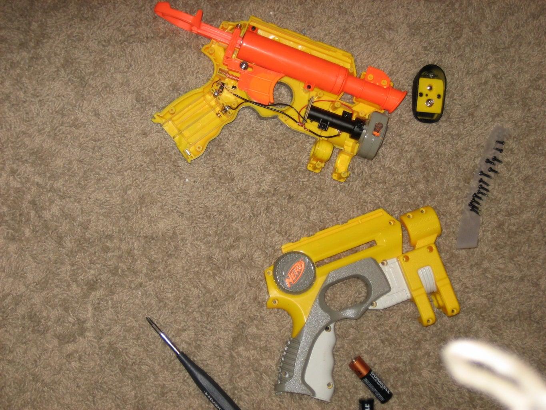 OPENING THE GUN