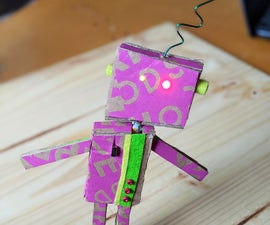 纸板机器人与焊接电路