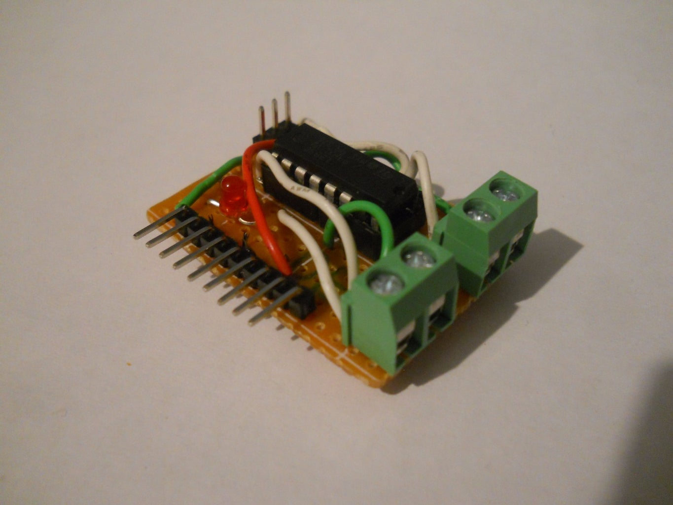 $1 Motor Driver Circuit for Arduino