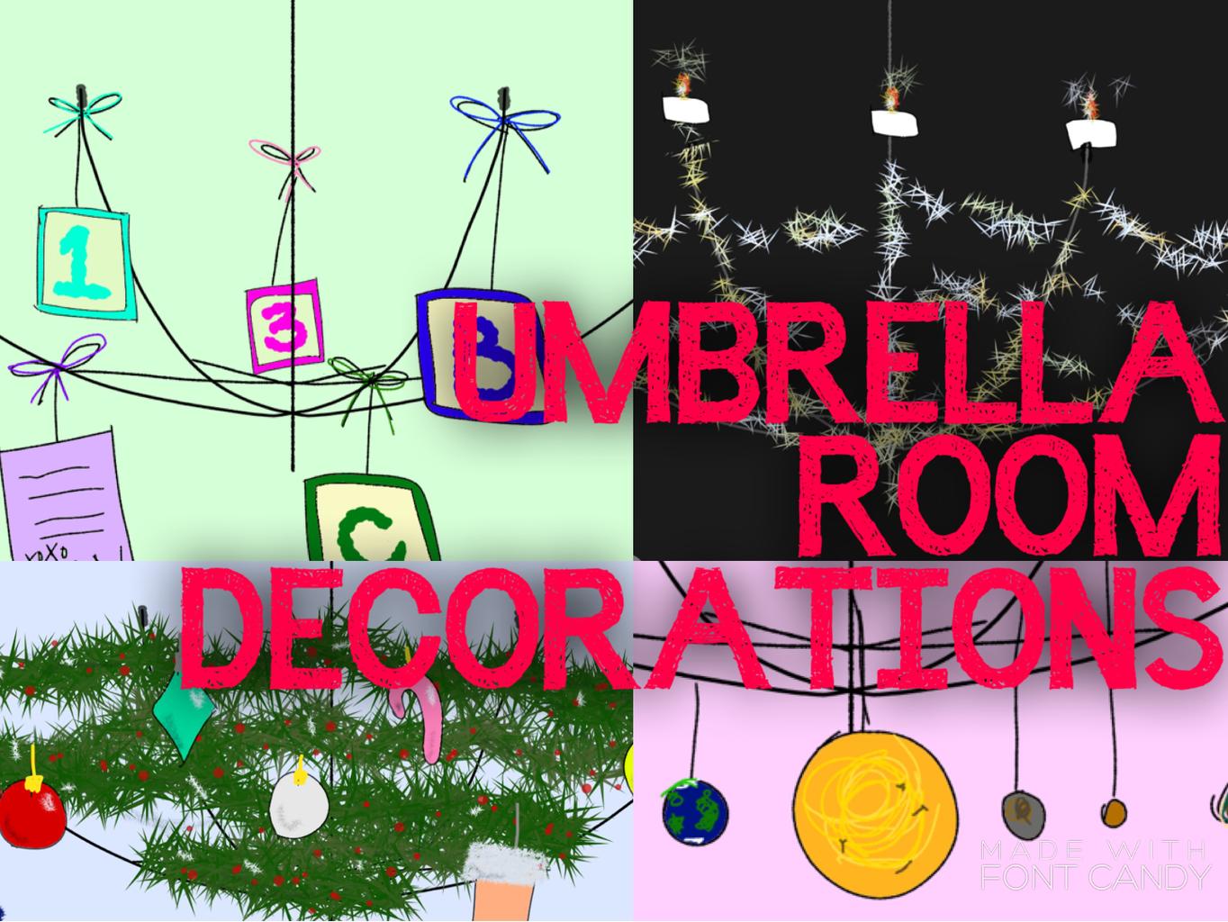 Umbrella Room Decorations