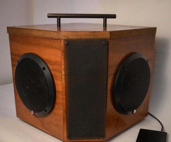 Wireless Boombox Speaker All-in-one