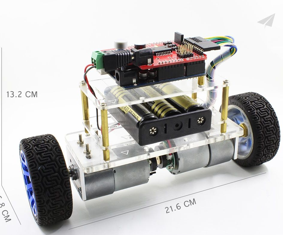 How to build  a wireless upload Self-balancing Robot