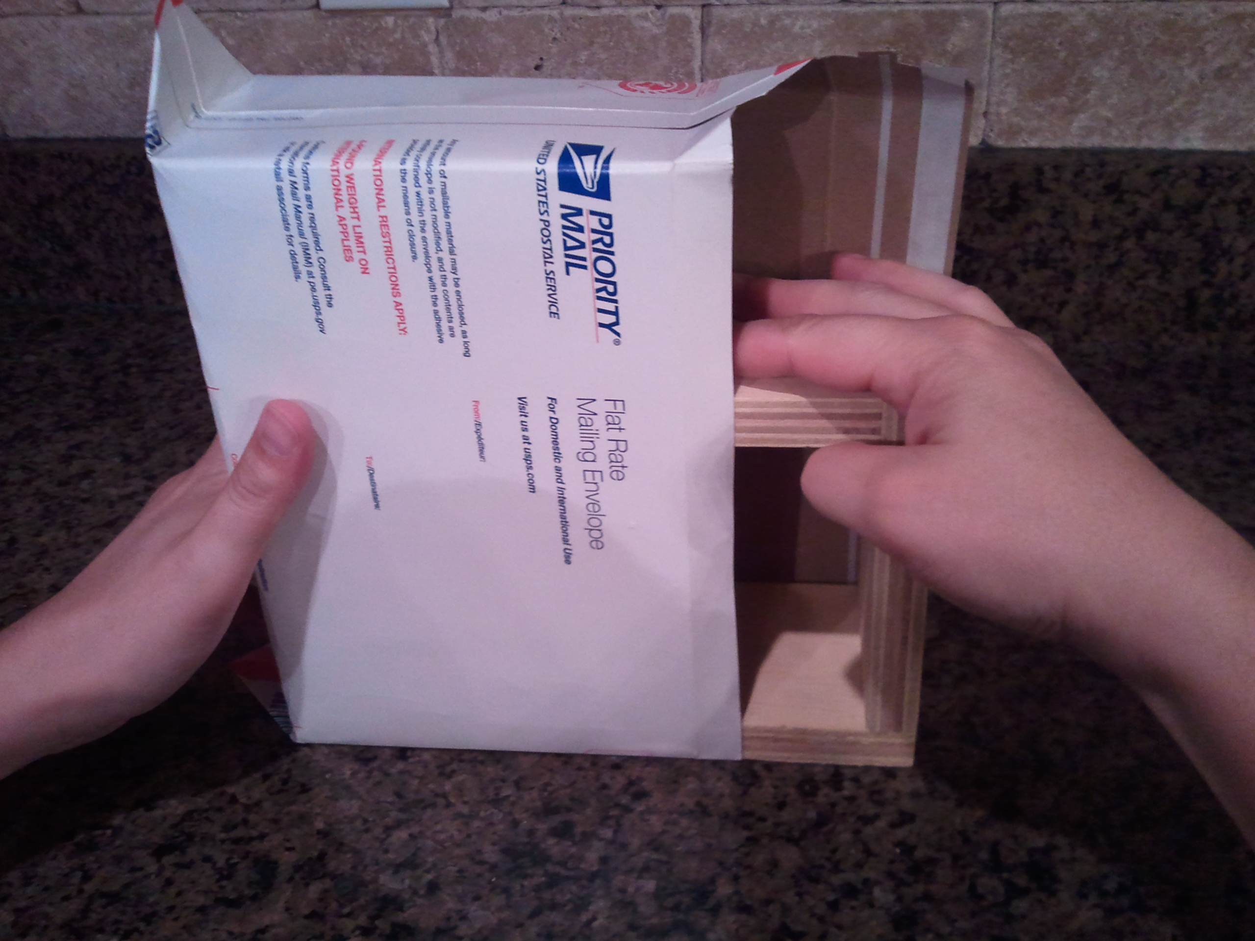 Make $4.75 USPS Flat Rate shipping box