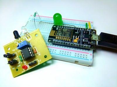 Interface InfraRed Sensor Using NodeMCU