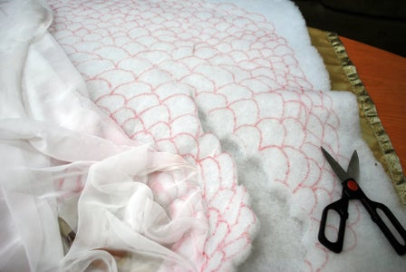 Breaking the Quilting Down