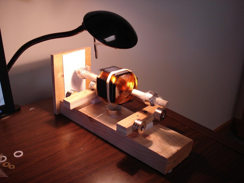 Levitating Solar Motor