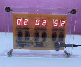 Digital Clock But Without a Microcontroller [Hardcore Electronics]