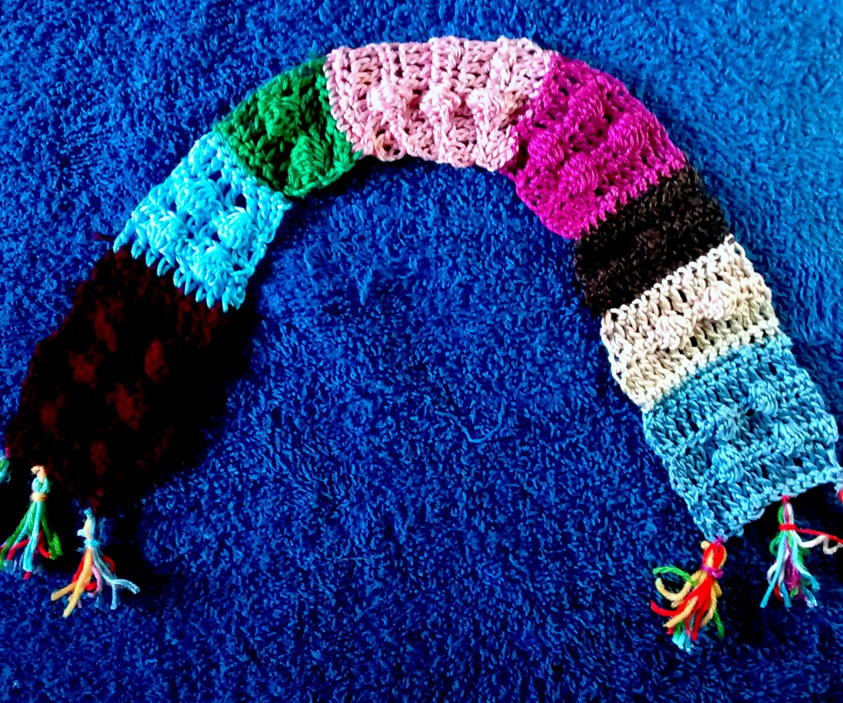 Crochet Lego Baby Scarf (With Beginners Tutorial)