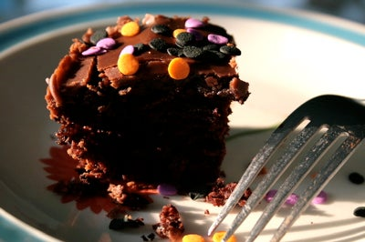The BEST Chocolate Cake Ever...that Happens to Be VEGAN.  I Kid You Not!