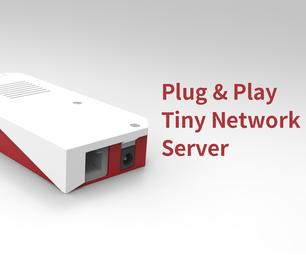 Plug & Play Tiny Raspberry Pi Network Server