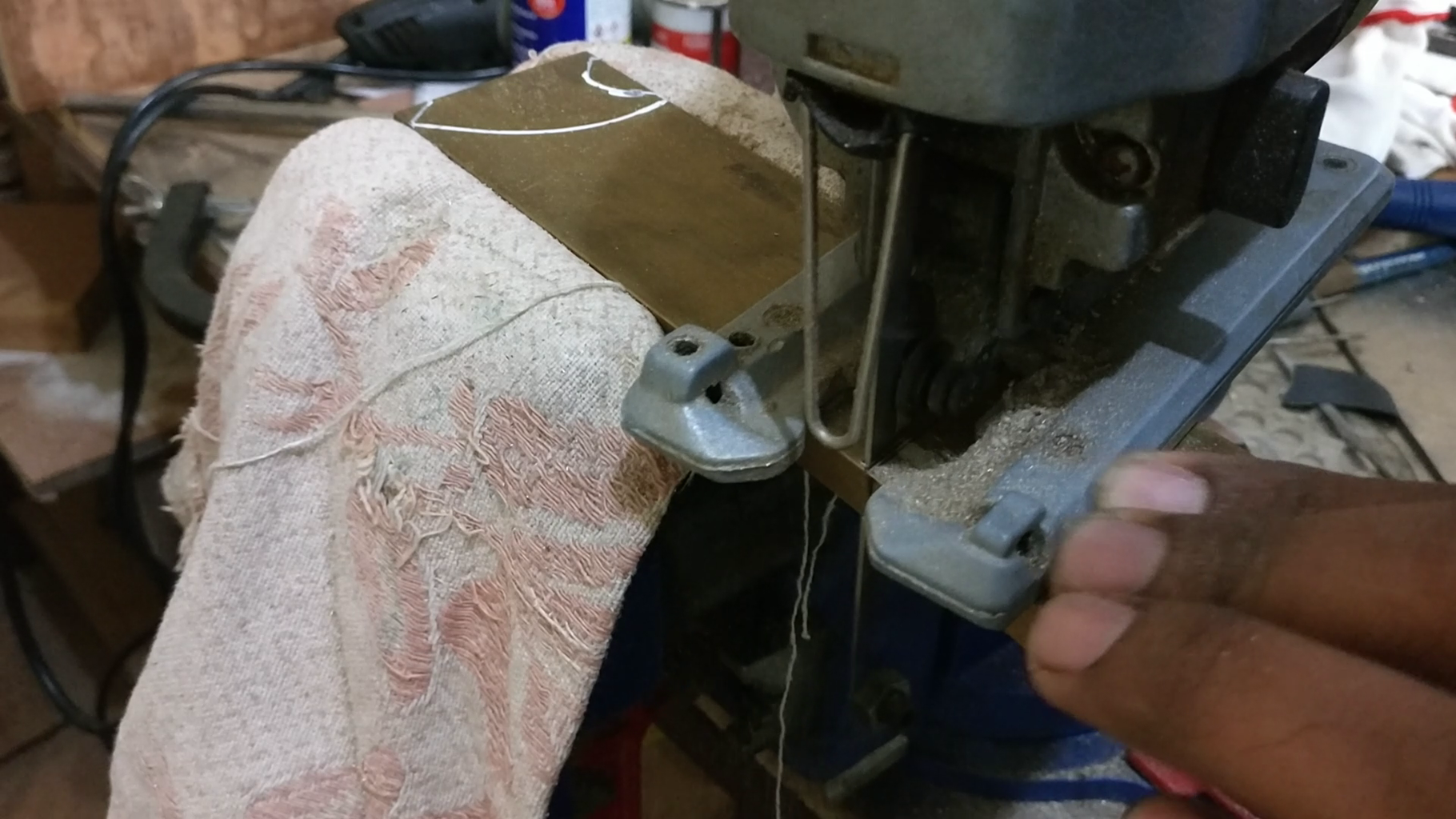Making the Composite Handle