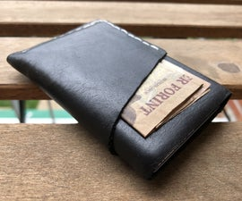 Slim EDC Leather Wallet - No Special Tools
