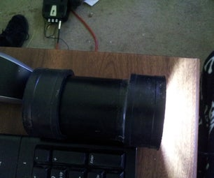 Pointless (and Ugly) Waterproof Flashlight Housing.