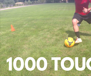 1,000 Touches Soccer Drill