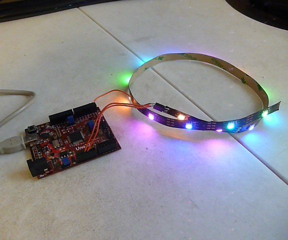 Addressable LEDs (WS2812) on chipKIT
