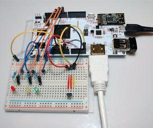 Temperature Sensor LM35 on PcDuino