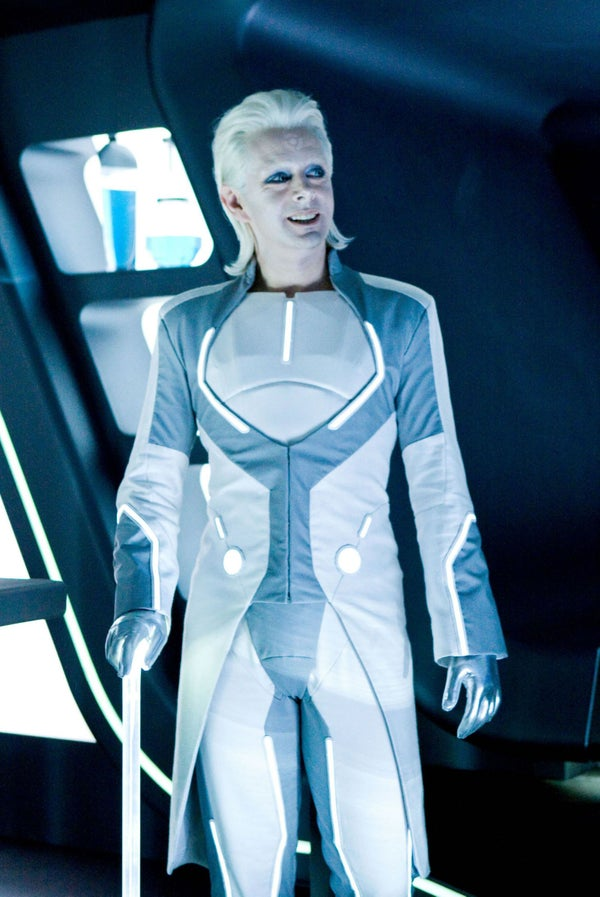 Tron Legacy Outfit From Scratch (castor Based)