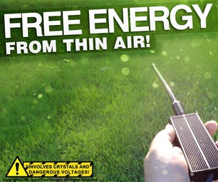 Free Energy From Thin Air!
