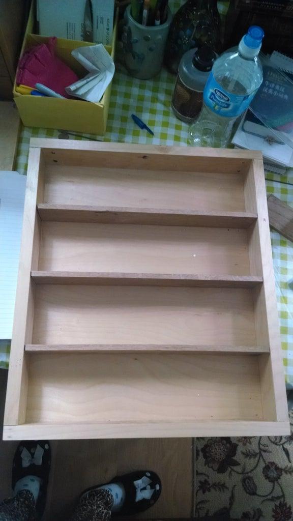 Step 4: Attach Shelves