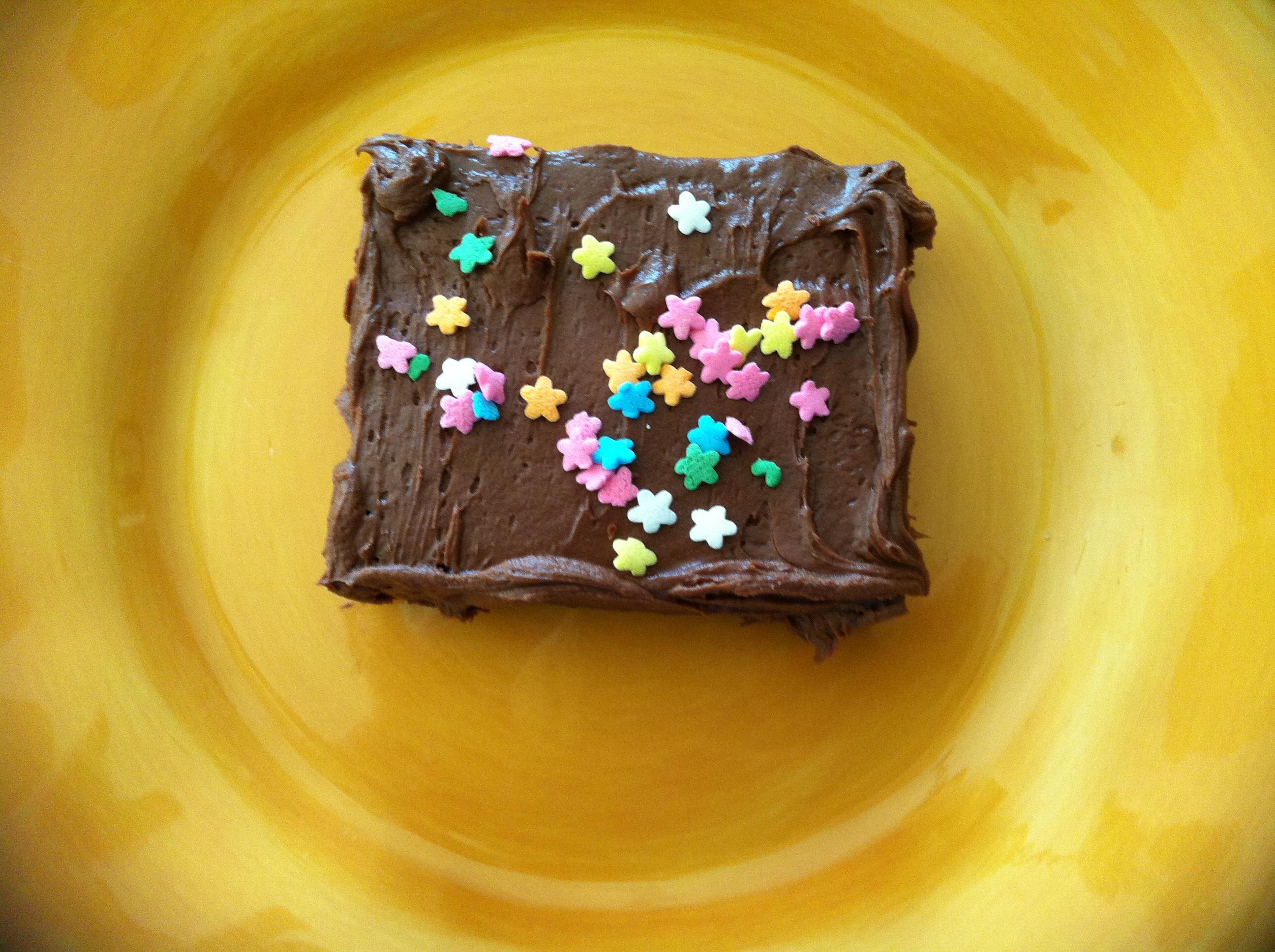 Sponge Brownie Prank