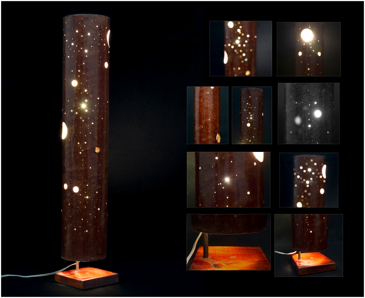 Cardboard Sky Lamp