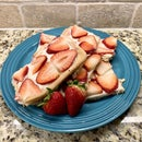 Strawberry Pizza From a Box
